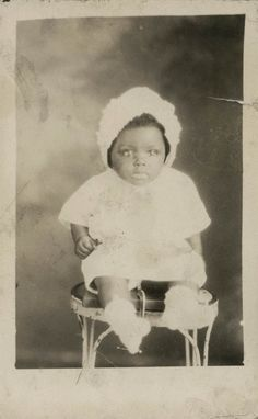 vintage pics of african americans | vintage photo AFrican American Baby by maclancy on Etsy