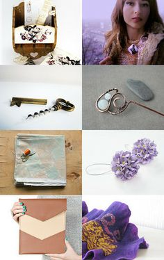 Lilac march by Yu and Ed on Etsy--Pinned with TreasuryPin.com