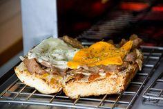 Sándwiches recién salidos del horno!