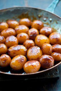 Perfekte brune kartofler