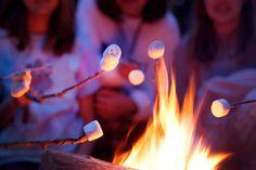 <3 #summer #campfires #marshmallows #yum