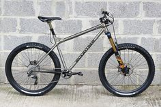"""The Curtis Am7 is our new all mountain hardtail frame for 27.5"""" (650B) wheels, made from Reynolds 853 and Columbus tubing..."""