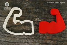 Our Biceps cookie cutter is so strong that it can cut any kind of dough or fondant! Check out our...