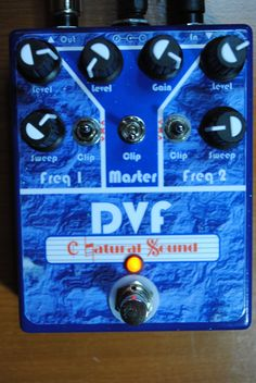 Dual-Voiced Filter, built from GuitarPCB's DVF board