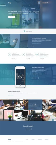 Boxify -  One Page Website Template