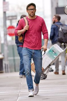 All the Times Ryan Reynolds Turned the Street Into a Runway This Year Trendy Mens Fashion