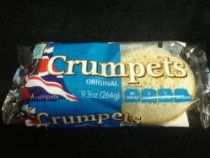 What a Classic!   British Style Crumpets : One Pack of 6 Crumpets ; 9.3oz/264g