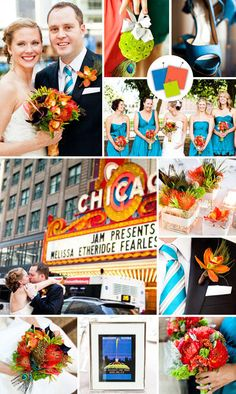 Check out the hottest modern wedding color combos that we're obsessed with right now.