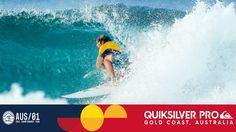 John John Florence's Final Wave in Round Three - Quiksilver Pro Gold Coa...