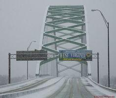 Ohio River Bridge Moundsville WV