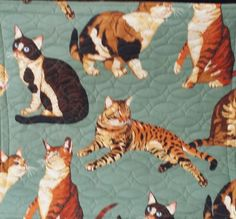 Catnip Cat Mat by TheQuiltRoom on Etsy