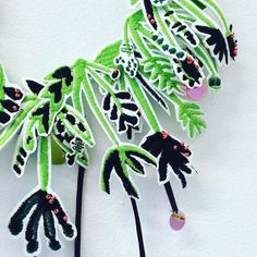 @lisscooketextiledesign Cooke will be bringing her range or gorgeous embroidered jewellery to our Spring Market! Each piece of jewellery is uniquely created using a mixture of digital and hand embroidery.  View our exhibitor line via our profile link  Handmade Nottingham Spring Market 19th March at @maltcross  #hnmarkets #market #craftfair #itsinnottingham  #supportindependent #buyhandmade #shoplocal #Nottingham