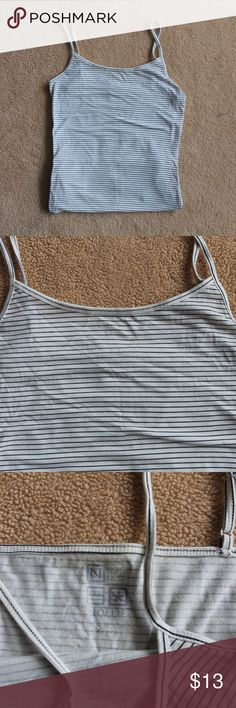 Striped tank top nollie striped tank top.  Never worn! PacSun Tops Tank Tops