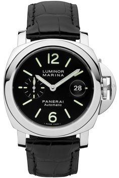 85566227cc8 Luminor Marina Automatic Acciaio - 44mm PAM00104 - Collection Luminor -  Officine Panerai Watches Cool Watches