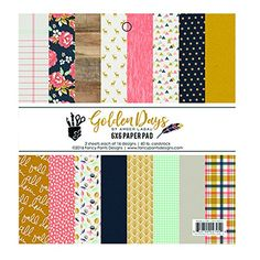 Fancy Pants Designs 2705 Golden Days 6x6 Paper Pad Golden Days Paper Pad6x6 ** Check this awesome product by going to the link at the image.Note:It is affiliate link to Amazon. #50likes