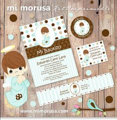 Printable Kit/ Precious Moments/ for Baby Christening