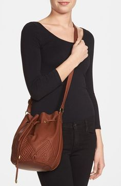 Kendall & Kylie Madden Girl Quilted Faux Leather Bucket Bag (Juniors) | Nordstrom
