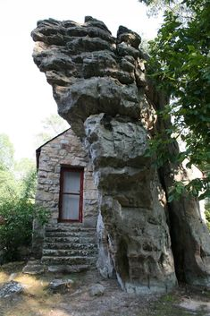the rock church at Mentone, Alabama