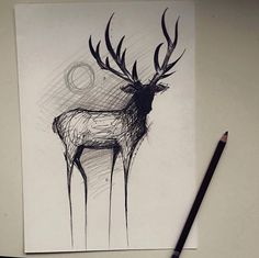 Nice sketchy tattoo                                                       …