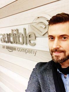9-10-2017 Selfie at Audible UK studio