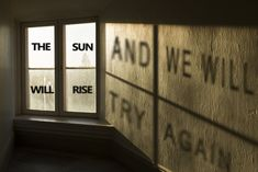 The Sun will rise. And we will try again.
