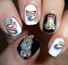 water marble effect