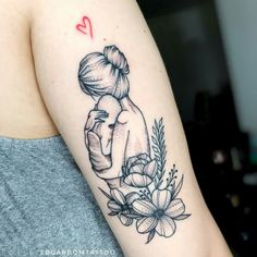 baby tattoos for moms 612348880570544038 - 24 Cute Tattoos To Show The Unconditional Love Of Mom – DIY Morning Source by greensmeralda