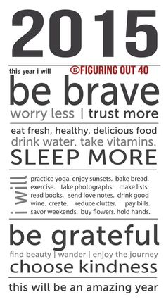 2015 Printable Manifesto. by figuringout40 on Etsy