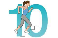 """In nur zehn Minuten: Die """"Snacks"""" unter den Trainingsprogrammen sind zeitlich leichte Kost, aber stets sehr gehaltvoll."""