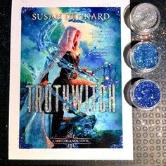 By Waterwitch Kim - glittery USA cover!