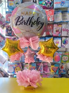 Baby Shawer, Balloon Decorations Party, Balloon Bouquet, Pink Candy, Food Gifts, Ideas Para, Balloons, Happy Birthday, Diy