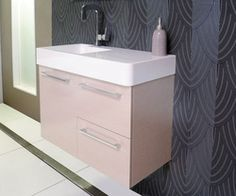 ADP Hug Vanity 600mm With RONDO Q Basin Basin, Filing Cabinet, Hug, Vanity, Bathroom, Architecture, Storage, Furniture, Home Decor