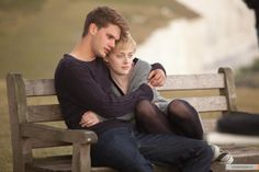 """""""Now Is Good"""" - Dakota Fanning, Jeremy Irvine. Cait stars = 4 of Box of Tissues = needed. Now Is Good, Dakota Fanning, Jeremy Irvine, Fallen Series, Best Trailers, My Romance, Drama, Movie Couples, The Fault In Our Stars"""