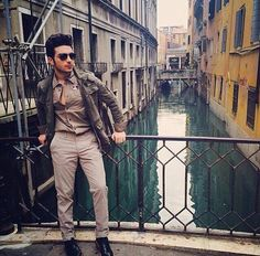 Gianluca the soldier in Venice