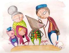 Cuento en inglés para niños: The villain of the story