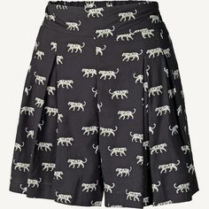 Tribal Cat Flippy Shorts at Fat Face