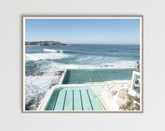 Lots of people dream about having a healthier, better-looking body through physical cardio fitness. Coastal Wall Art, Beach Wall Art, Coastal Decor, Bondi Icebergs, Sydney Beaches, Visit Sydney, Beach Posters, Bondi Beach, Beach Print