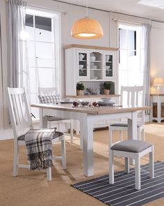 The Georgia Dining Range from Furniture Origins. Available at Rodgers of York.