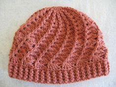 Divine Crochet Hat...making it in dark purple with maybe a cream rim :) mmmm