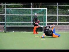 Goalkeeper training - Marith Krutzen