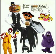 An original piece I made entitled 'FleetWood Big Mac'