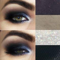 Tutorial – olho preto com brilho!