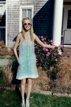 Chanel sequin gown via http://tmagazine.blogs.nytimes.com/2012/02/16/spring-trends-iridescence/