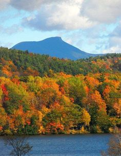 Camel's Hump as seen from Hinesburg, Vermont Photographed by Paul Moody