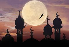 Ramadan Kareem Background Illustration Stock Illustration - Illustration of mosque, muslim: 90710619 Mosque Silhouette, Imam Hussain Wallpapers, Background Powerpoint, Islamic Paintings, Silhouette Painting, Red Sunset, Background Banner, Islamic Art, Islamic Quotes