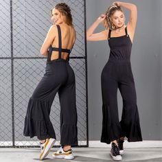 Crea outfits espectaculares con este overall ¡ESTÁ INCREÍBLE! 🔥🖤