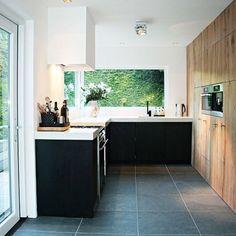 #eikenhout #keuken #wonen #interieur #terrazzo