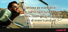 Atif Aslam lyrics