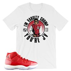 f6dfdc02 91 Best Sneaker Tees images in 2017   Matching jordans, Shoes ...