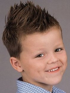 The Most Common Options for Boys Haircuts: Spikey Little Boy Haircuts ~ hipsterwall.com Hairstyles Inspiration